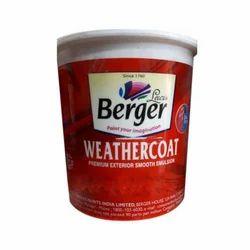 Berger High Gloss Exterior Weathercoat Paint