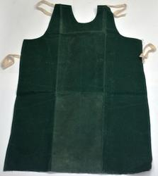 Green Canvas Cloth Waxed Apron Size  24''''36