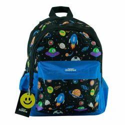254e66614e8 Nylon Printed Smily Kiddos Fantasy Pink Foldover Backpack, Rs 2599 ...