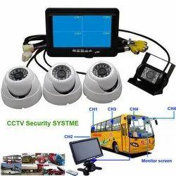 School Bus CCTV Camera, For Outdoor, 15 to 20 m