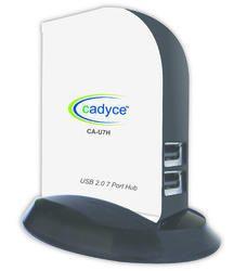 Cadyce USB 2.0 7-Port Hub