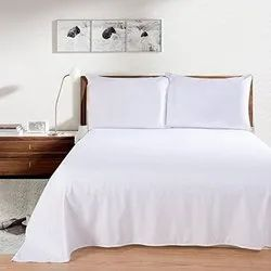 Plain Cotton bed sheets