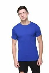Plain Mens Round Neck T-Shirt