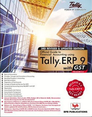 Tally ERP Accountancy Books - Official Guide To Financial