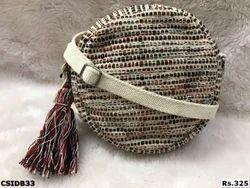 Designer Round Dari Sling Bags