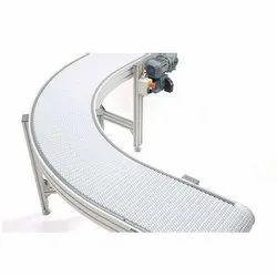 SS Modular Belt Conveyor