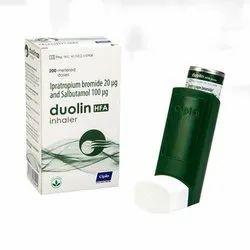 Ipratropium Bromide and Salbutamol Inhaler