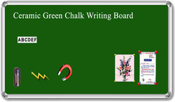 Ceramic Green Chalk Writing Board