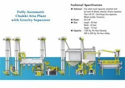 Fully Automatic Chakki Atta Plant With Gravity Separator