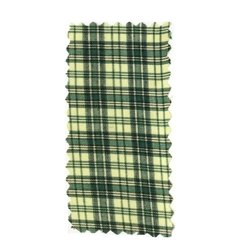 Mens Check Uniform Fabric