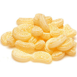 Yellow Lemon Sugar Candy