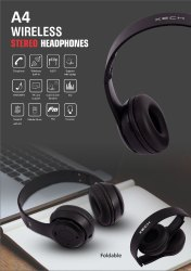 Oem Black Electra Wireless Headphones
