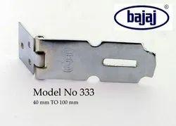 Mild Steel Bajaj 333 Safety Door Hasps, Size: 40 Mm