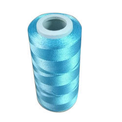 Blue Polyester Thread