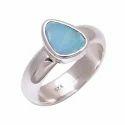 Australian Opal 925 Sterling Silver Ring