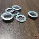 No. 28 (13mm) Aluminium Eyelets & Washers Polished