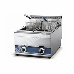2 Tank 2 Basket Gas Fryer (8L-2)