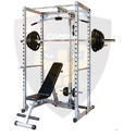 Squat Rack With Lat Pull Down Machine