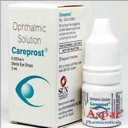 Careprost Bimatoprost Ophthalmic Eye Drops, for Commercial, 3 Ml