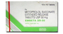 Metoprolol Succinate Embeta XR 50 Tablet