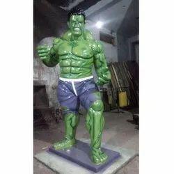 FRP  hulk Statue