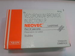 Neovec (Vecuronium Bromide Injection I.P)