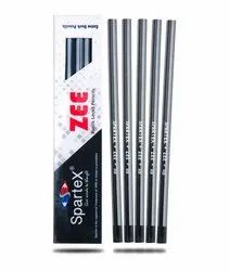 Black Polymer Spartex Zee Pencil, For Writing, Drawing