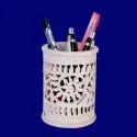 Soapstone Carving Pen Holder