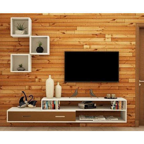 Modern Brown Modular Tv Unit
