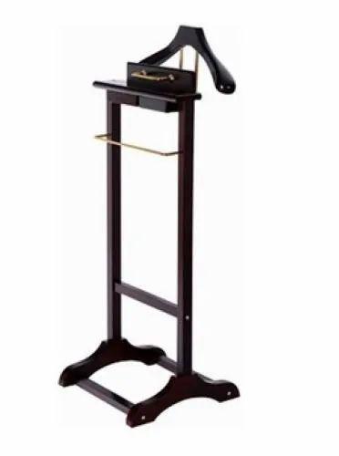 Polite Dark Brown Coat Hanger Stand