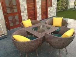 Garden Rattan Set