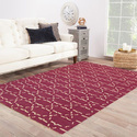 Vimla International Abstract Cotton Flat Weave Rug