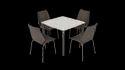 Restaurant Dinning Chair - Godrej Olive