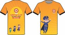 Orange Sports T-Shirt