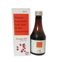 Ferrous Ascorbate 30 mg Folic Acid 550 mcg Zinc 22.5 mg Suspension