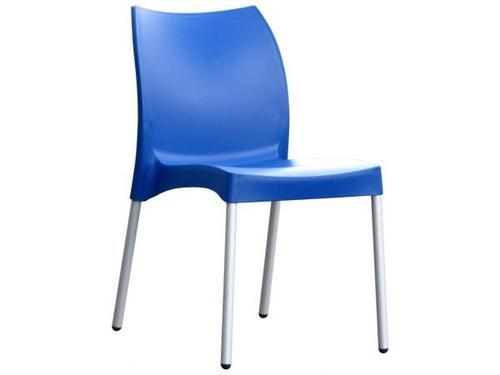 Cafeteria Blue Plastic Chairs