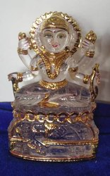 Bala Tripura Sundari Crystal Statue
