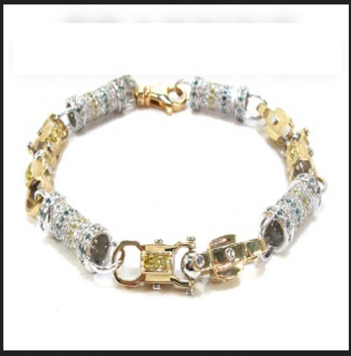Men Diamond Bracelet Men Diamond Bracelet BRL001 Retailer from