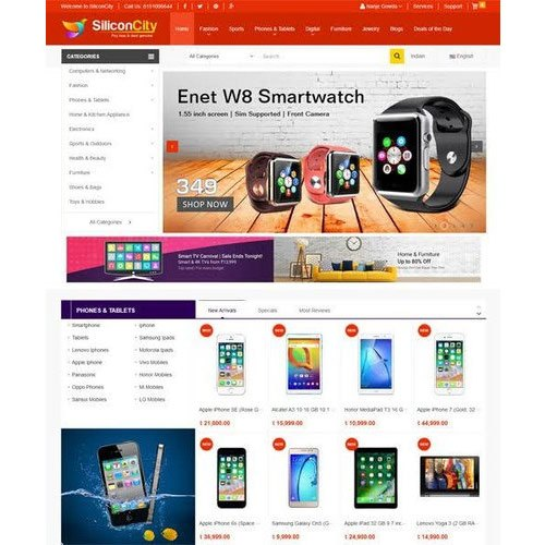 Website Designing E Commerce Website Designing Service Service Provider From Guwahati