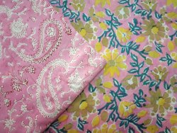 Hand Block Printed Fabric In World