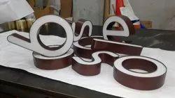 Aluminium Trim Cap Letters