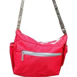 Plain Casual Side Bag