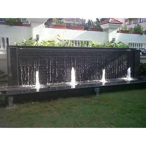 SS Rectangle Outdoor Fountain