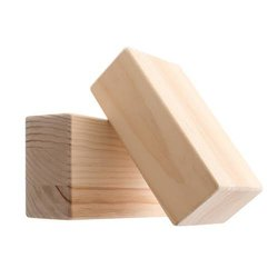 1-5 Inch Rectangular Wood Block, Thickness: 1-3 Inch