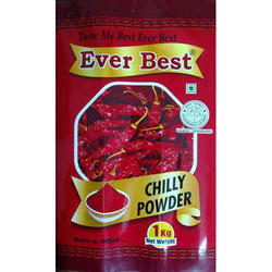 Rainbow Chilly Powder Packaging Pouches