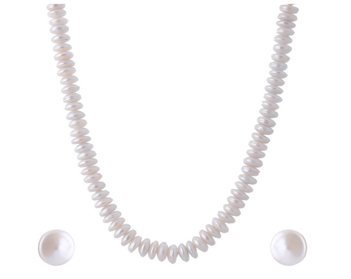 94b371c075aa3 White Pearl Necklace Set For Women