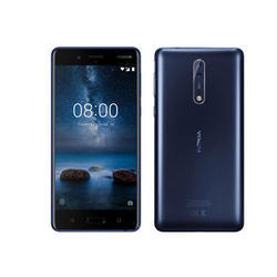 Nokia 8 Mobile Phones, Memory Size: 64 Gb, Screen Size: 5.30 Inches