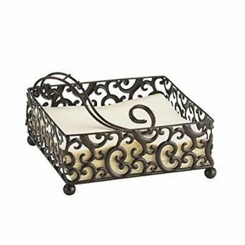 Flat Napkin Holder न पक न ह ल डर न पक न ध रक In Katghar Moradabad Masha Allah Handicrafts Id 19711783391