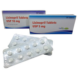 Lisinopril Tablets USP 5 mg & 10 mg
