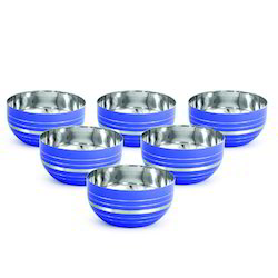 Stainless Steel Colored Bowls